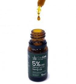 CBD + CBDA 5% Full Spectrum in Organic Hemp Oil / Batches Lab Tested: 3.0% - 7.0% CBD/ <0.2% THC - image IMG_1423-1-e1609792444877-250x275 on https://www.canlieb.de