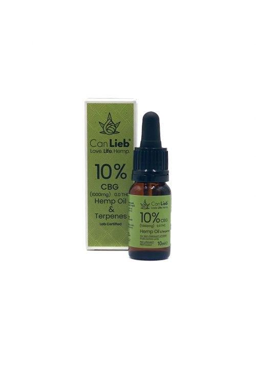 CBG 10% in Refined Hemp Oil with Terpenes / Batch: E420034 / 0.0% THC - image IMG_1542-e1588537636269 on https://www.canlieb.de