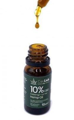 CBD + CBDA 10% Full Spectrum Organic Hemp Oil / Batches Lab Tested 8.5% - 11.5% CBD / <0.2% THC - image IMG_1610-1-e1609792392303-250x405 on https://www.canlieb.de