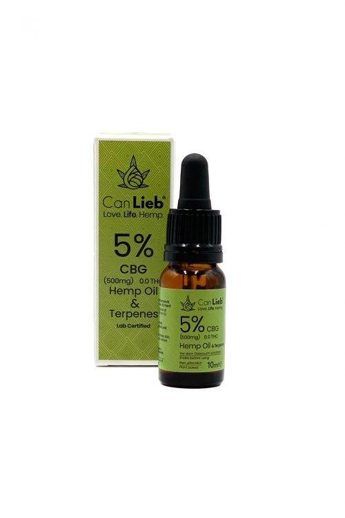 CBG 5% Cannabigerol in Refined Hemp Oil with Terpenes / Batch: E320033 / 0.0% THC - image IMG_1684-copy-e1588537490347 on https://www.canlieb.de