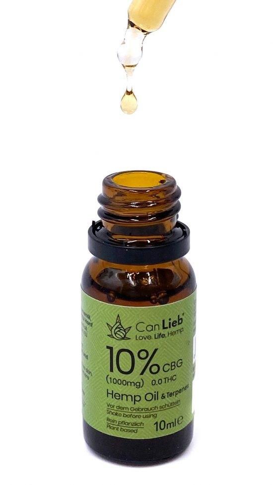 CBG 10% in Refined Hemp Oil with Terpenes / Batch: E420034 / 0.0% THC - image IMG_7616-2-e1609791224506-550x978 on https://www.canlieb.de