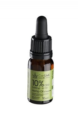 CBG 10% in Refined Hemp Oil with Terpenes - CanLieb | Germany