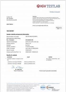 Premium Organic Skin Balm 30ml / Hands & Feet / Batches Lab Tested 85mg-95mg CBD / <0.2% THC - image IMG_5360-250x351 on https://www.canlieb.de